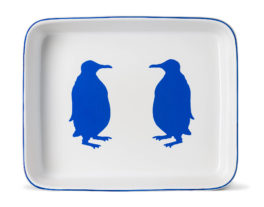 Large Penguin Rectangular Ovenware Dish