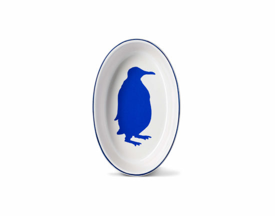 Small Penguin Oval Ovenware Dish
