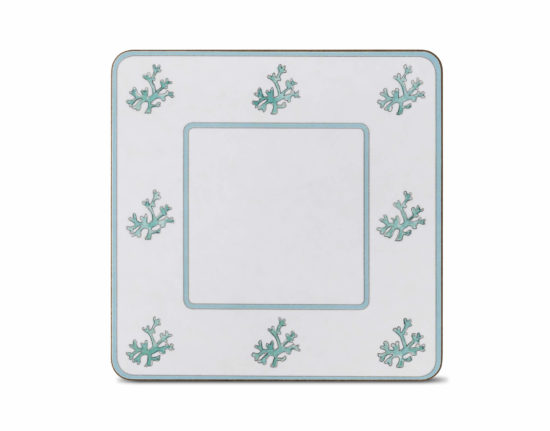 Coral Square Table Mat (Set of 4)