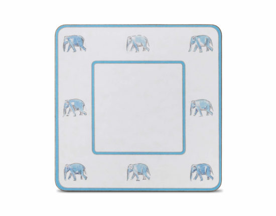 Elephant Square Table Mat (Set of 4)